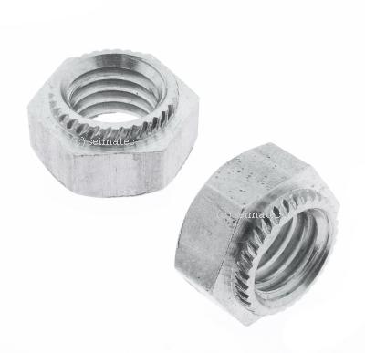 Sechskant-Einpressmuttern // Setzmuttern - Schlagmutter SC-Normteile/® Niro V2A M6 - - aus rostfreiem Edelstahl A2 SC9120 20 St/ück